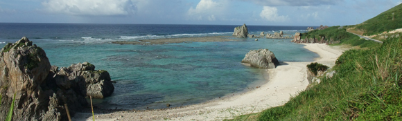 伊平屋島の風景