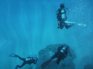 透明度50mオーバーの海